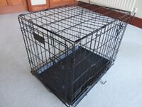 Dog Crate, small, excellent condition, never used, in original box, foldable