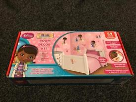 Doc Mcsuffins bedroom wall stickers brand new!