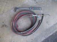 OXY ACETYLENE BURNING & BRAZING TORCH WITH HOSES