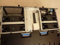 Dell PowerEdge 6850 server with 4 intel xeon processors @ 3.66 ghz each