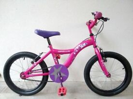 """FREE Bell with (996) 18"""" APOLLO STAR Girls Childs MOUNTAIN Bike Bicycle Age: 6-8 Height: 112-127 cm"""
