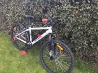 child's bike good condition mountain bike style 6 gears, suitable for approx. 8 yr old