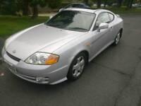 2004 hyundai coupe SE 2.0 petrol full year mot