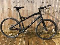 Specialized centrum fixie commuter bike will post