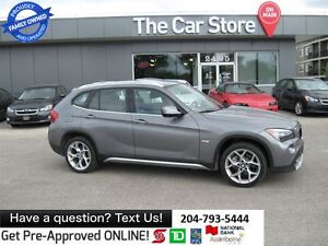 2012 BMW X1 xDrive28i SUNROOF, HTD POWER SEATS, BLUETOOTH
