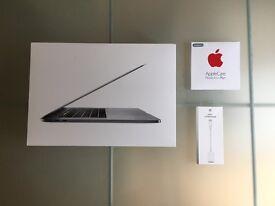 "Apple MacBook Pro Retina 15"" Touch Bar, 2.7GHz Core i7 512GB SSD & AppleCare Warranty"