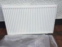 KUDOX PREMIUM TYPE 11 SINGLE-PANEL SINGLE CONVECTOR CONVECTOR RADIATOR WHITE 600 X 1000MM New