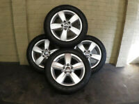 4 x Genuine Vw Caddy Siracusa (2K3601025) 16inch alloy wheels & tyres Golf/Touran
