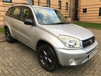 ★ 2 OWNER, LOW 68,000 MLS ★ 2004 TOYOTA RAV4 XT3 2.0, 5 DR, Estate 4x4 ★ MOT JULY 2018 ★ FULL S HIST