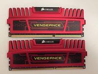 Corsair Vengeance® — 16GB (2x8GB) Dual Channel DDR3 Memory Kit (CMZ16GX3M2A1866C10R)