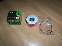 hi flo 401 standard oil filter in box with seals fits many bikes