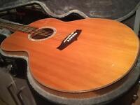 Beautiful tanglewood jumbo acoustic/ j200 /ej200