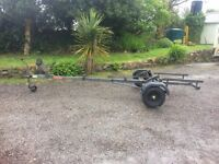 Boat trailer. 'High Speed Trailers (Int.)' Newly renovated - up to 4.5m boat.
