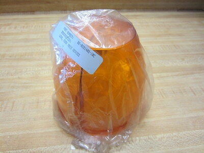 Whelen 02-0281402-10c Amber Dome Rbii Lens Ir3 Series Beacon 02028140210c
