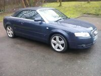 audi a4 cabriolet s line 2.0 tdi 2006 06 plate