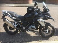 BMW R1200GS TE Triple Black.