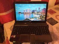 Acer Aspire 5735 # 250Gb Storage # 3Gb Ram # Windows 7