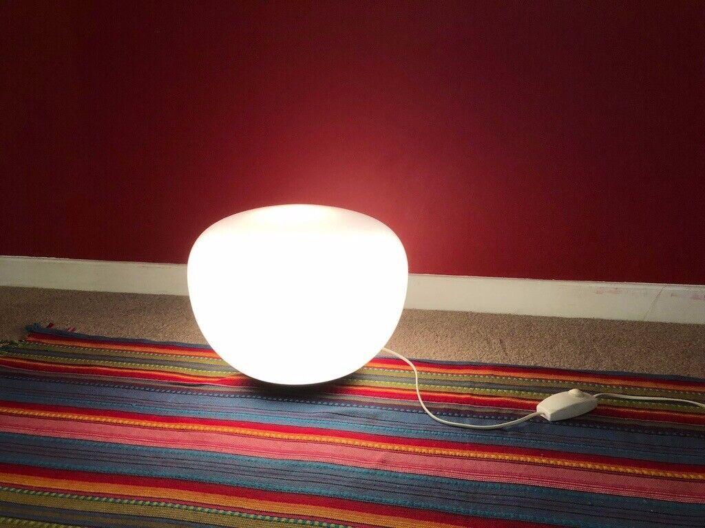 Jonisk vintage IKEA Floor Table lamp with dimmer (Bubble Orb Ojerstam Design) | in Hackney, London | Gumtree