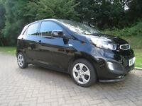 KIA PICANTO 2013 - NO ROAD TAX TO PAY One owner - Low miles - Manual - 5 door - Kia warrantee £4,650