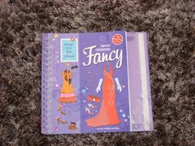 Design your own dresses book, with stencils. £1 torquay