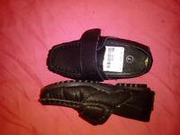Boys pram shoes size 7 never worn, great for wedding christening etc