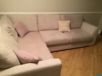 DFS Blanche Corner Sofa Right Hand Facing