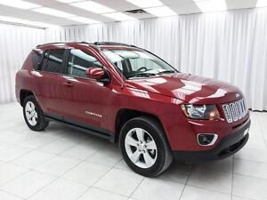 2016 Jeep Compass HIGH ALTITUDE 4x4 SUV w/ BLUETOOTH, HEATED LEA
