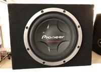 "Pioneer 12"" BASS BOX"