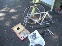 "Peugeot Mountain bike frame, 20"" high quality chromoly steel"