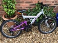 Child's Full Suspension Bike