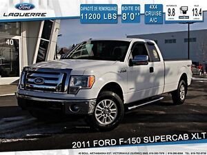2011 Ford F-150 XLT*4X4*CRUISE*VITRES*A/C*6 PASSAGERS**