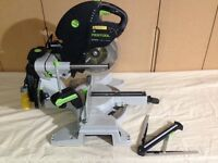 FESTOOL Kapex KS 120 EB Sliding Compound Mitre Saw with Laser - 110V