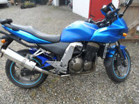 2007 Kawasaki 750s only 14317 miles excellent condition just serviced many extras