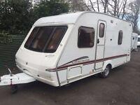 Swift Charisma 535 2006 4 Berth Fixed Bed Caravan + Motor Movers