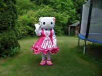 Hello Kitty Adult Mascot Costume £60