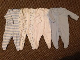 Baby Clothes 0-1 Month Lot 14 From Next