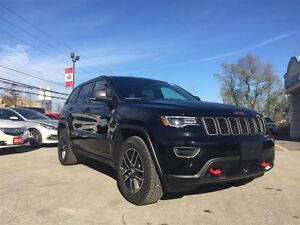 2017 Jeep Grand Cherokee NEW TRAILHAWK, JEEP ACTIVE SAFETY GRP 0