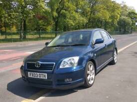 Toyota Avensis Automatic 2.0 full leather seats interior full service history tidy car bargain price