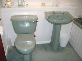 Bathroom suite, Armitage shanks, perfect