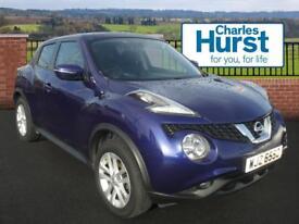 Nissan Juke ACENTA XTRONIC (blue) 2014-10-31