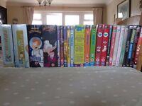 Assorted Cartoon / Comedy DVDs - Futurama, Family Guy, etc.