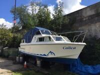 Dolphin 26 foot fibreglass constructed boat
