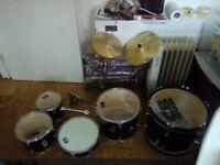 Junior 7 piece Drum Kit
