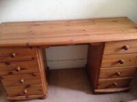 Pine Dressing table/desk