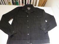 Never worn - Black Denim Jacket