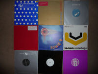"54 dance vinyl 12"" records collection. EXCELLENT cond. Trance House Progressive Tech Minimal"