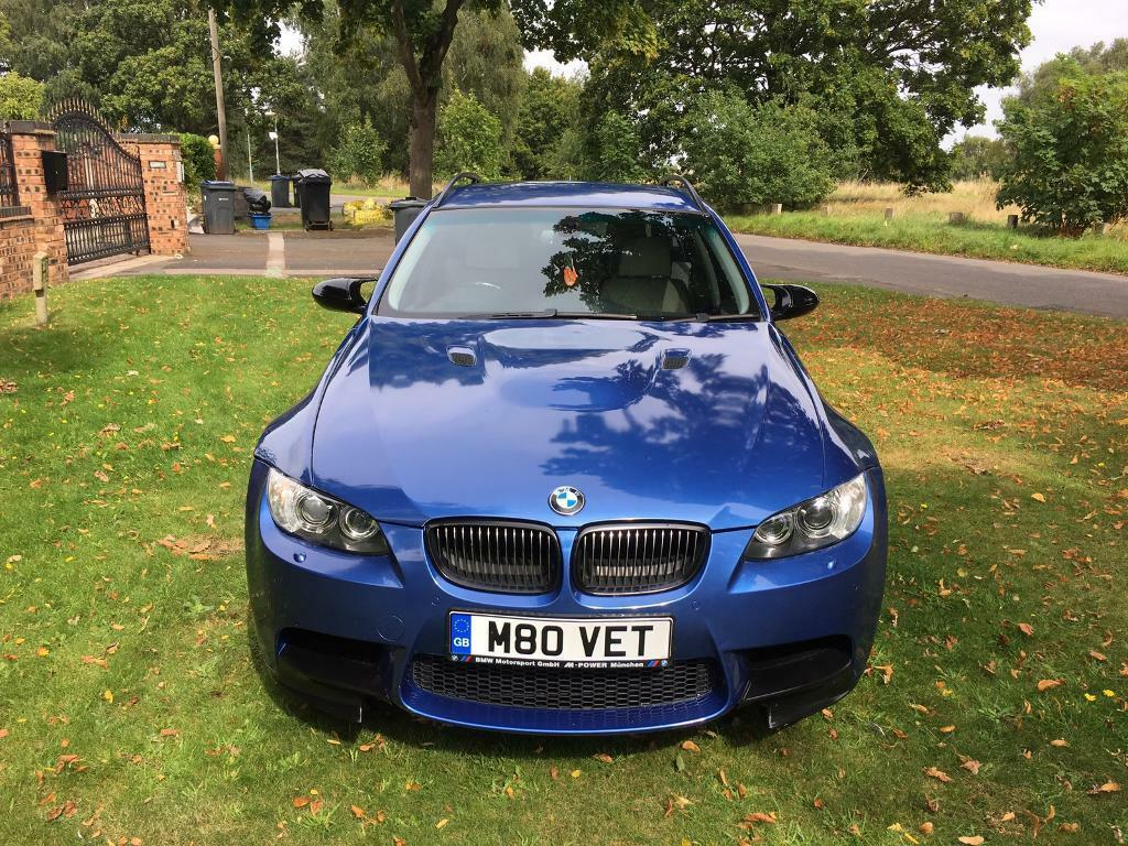 BMW 3 SERIES 325i AUTO FULL M3 REPLICA IN M3 ESTORIL BLUE FULLY LOADED CHEAPEST IN UK
