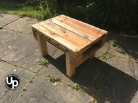 Reclaimed wood Coffee Table - Handmade - Side / Occasional Table