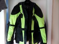 2 motorcycle jackets £32 for both