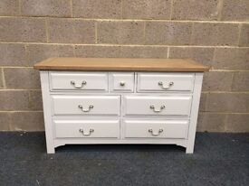 NEW Three Over Four Oak Chest Of Drawers